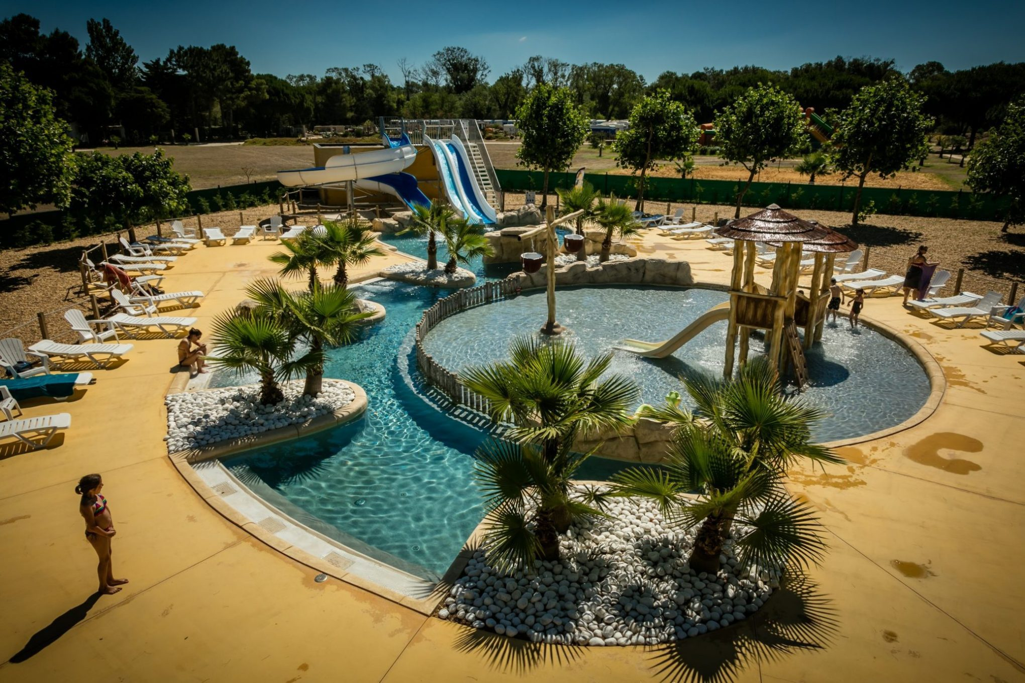 Waterpark camping Le Sainte Marie