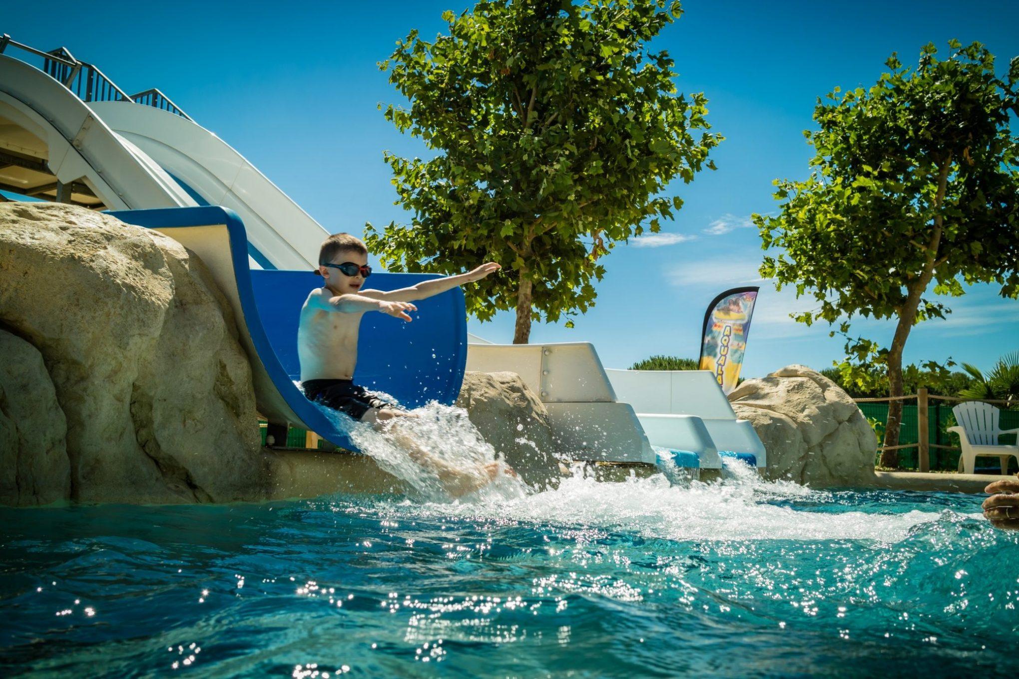 Aquatic Park camping Le Sainte Marie