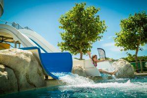 Toboggan aquatique au camping le Sainte Marie