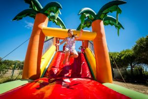Inflatable games camping Le Sainte Marie