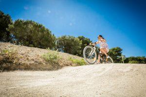Piste de vélo cross au camping le Sainte Marie
