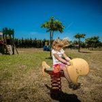 Jeux d'enfant du camping le Sainte Marie