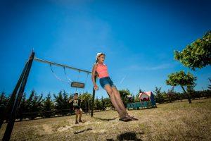 Balançoire du camping le Sainte Marie
