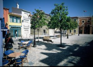 Place du village se Sainte Marie